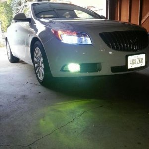 8K H11 HID with 3K H10 HID fogs